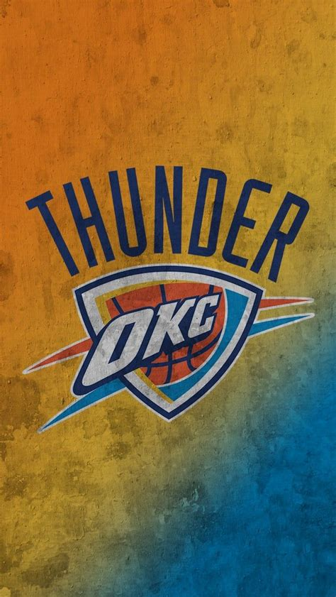 Okc Thunder Background Okc Thunder Iphone Wallpaper 2018 Wallpapers Hd