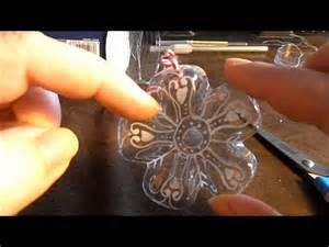 Deco De Noel Avec Bouteille En Plastique : noel n 9 deco noel au fond de la bouteille youtube ~ Dallasstarsshop.com Idées de Décoration