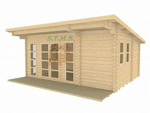 chalet ou bureau de jardin en bois modele sydni mini 19 With bureau de jardin en bois