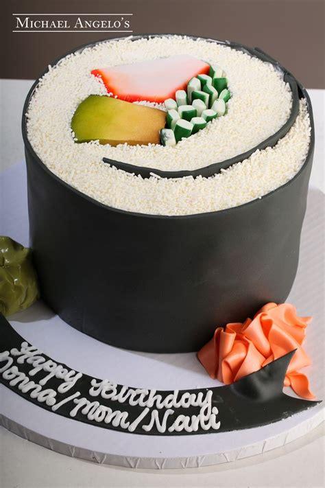 sushi birthday cake sushi anyone 62food