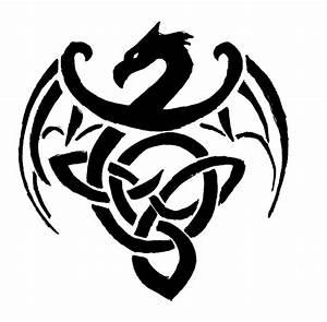 triquetra dragon | Fauna - Heraldic beasts | Pinterest ...