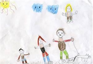 Gemalte Bilder Von Kindern : reli gedanken ein engel passt auf ~ Markanthonyermac.com Haus und Dekorationen