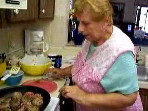 italian for grandmother new york italian grandma makes meatballs youtube