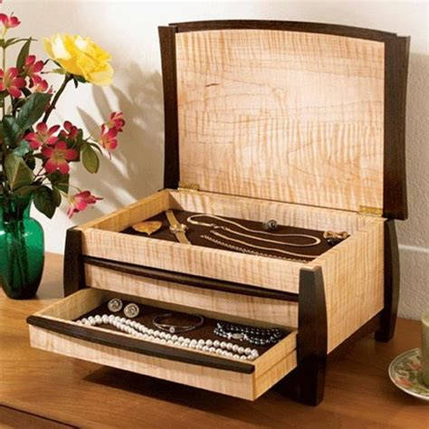 gem   jewelry box woodworking plan gifts