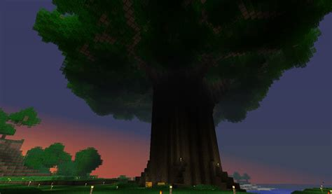 grand tree minecraft project