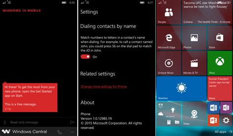 My Thoughts, So Far, On Windows 10 Mobile Build 10512