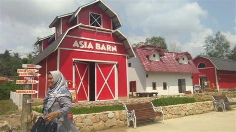 mengunjungi wisata edukasi asia farm pekanbaru annafi muja