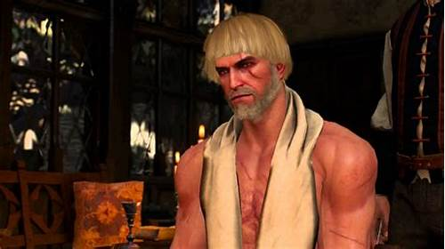 Pink Haired Blond Maria Is An Aggressive And Wicked Virgin #The #Witcher #3 #Mods