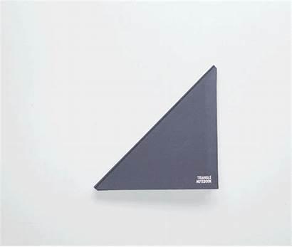 Triangle Notebook Milk Improved Tan Shape