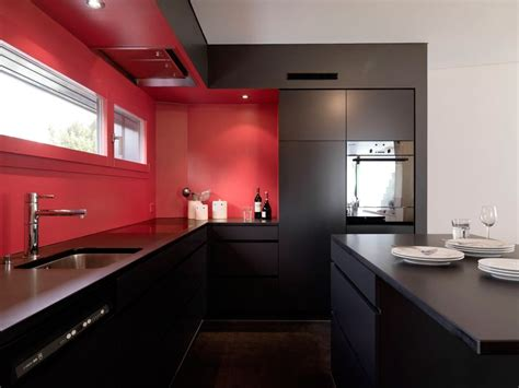 Red Kitchen Walls Interior Design Ideas And Photo Gallery