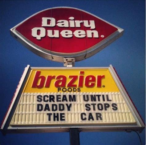 funniest fast food signs   history  fast food
