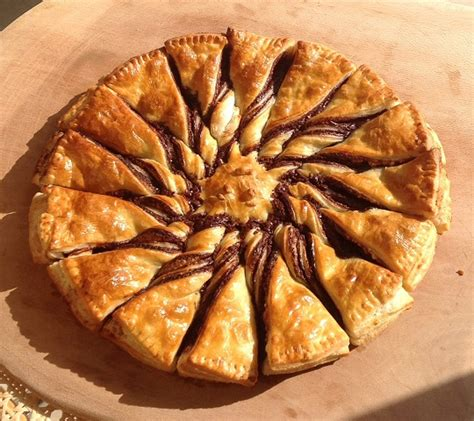 tarte chocolat banane pate feuilletee tarte soleil au chocolat p 226 te feuillet 233 e fran 231 ois