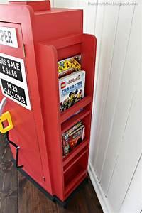 That39s My Letter DIY Gas Pump Bookshelf
