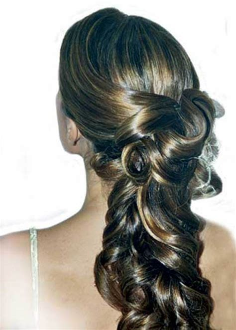 Wedding hairstyles for long hair : Woman Fashion