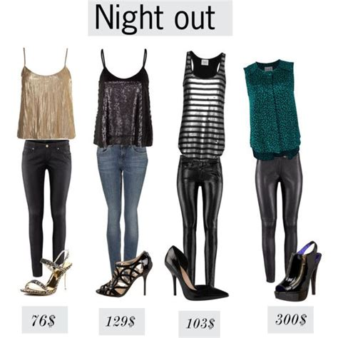 U0026quot;Night out and clubbing-tops and pants outfitsu0026quot; by myvirtuallife on Polyvore | NIGHT OUTFIT ...