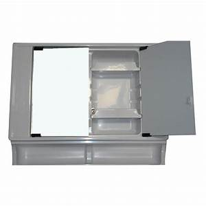 vt90 upper vanity section with mirror doors caravan rv With rv bathroom vanity