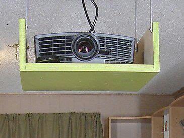 diy projector mount enclosed diy pinterest