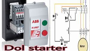 Dol Starter And How To Wiring Dol Starter Connection