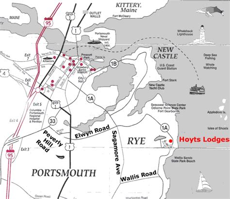 directions to hoyt s lodges cottages by the sea rye