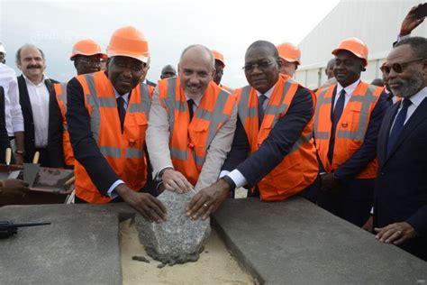 siege sociale orange côte d 39 ivoire pose de la première du nouveau