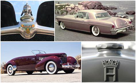 luxury car brands  time forgot