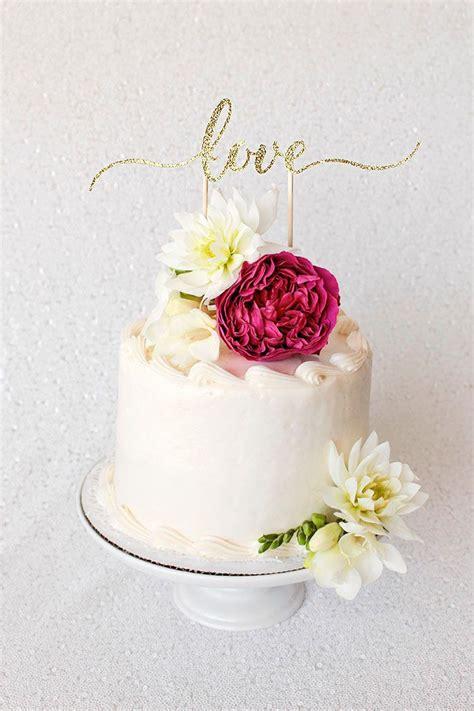 Diy Cake Topper Tutorial With Cricut Diy Wedding Ideas