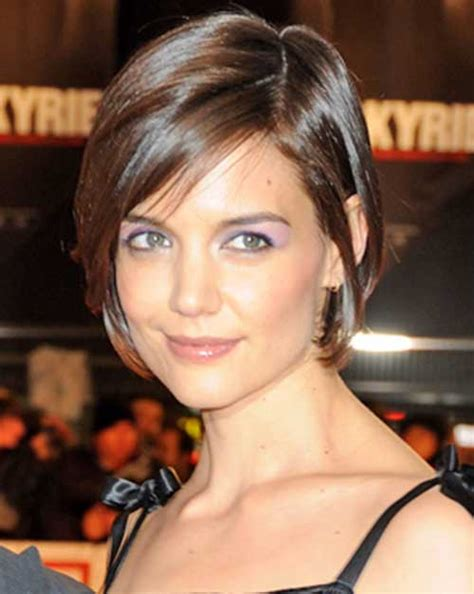 good katie holmes bob haircuts short hairstyles