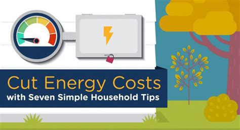 Cut Energy Costs With Seven Simple Household Tips