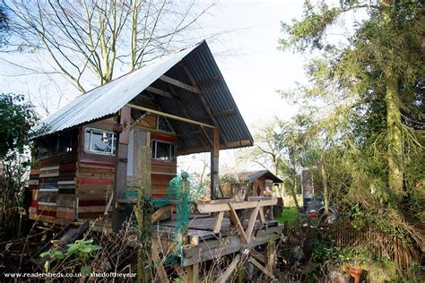 the river shed from allotment plot owned by