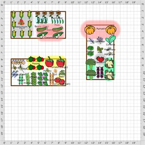garden plan 2014 three 4x8 raised garden beds wa