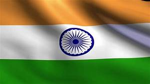 Flag Of India Beautiful 3d Animation Of India Flag With ...