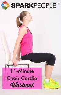 11-Minute Chair Cardio Workout