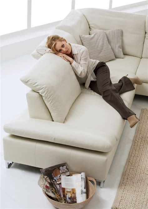 position canapé canapé d angle 5 places cuir gentflex multi