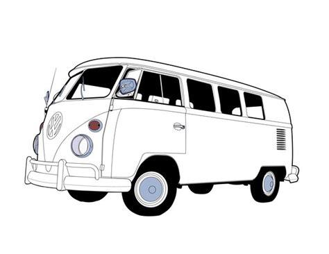 volkswagen bus drawing vw bus sketch www imgkid com the image kid has it