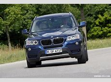 Info & Specs 2012 BMW X3 xDrive20i and xDrive35d