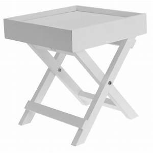 Plateau De Table : petite table avec plateau table de chevet bois achat vente desserte billot petite table ~ Teatrodelosmanantiales.com Idées de Décoration