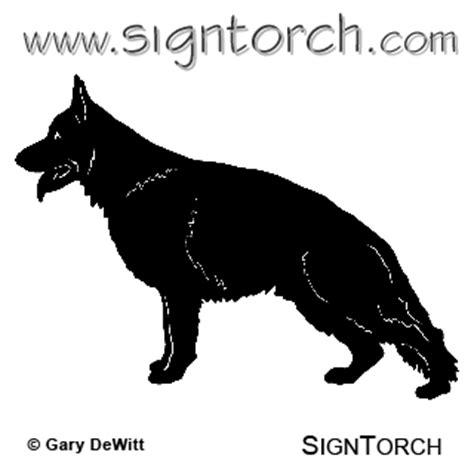 german shepherd  signtorch turning images