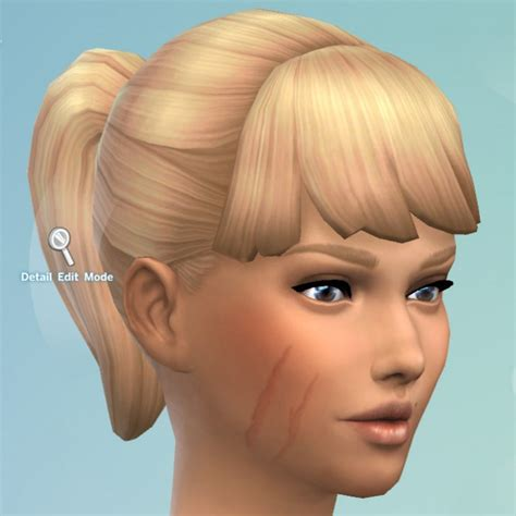 Facial Scars By Kisafayd At Mod The Sims Sims 4 Updates