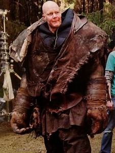 Derek Mears in Spectral Motion's Edward the Troll suit ...