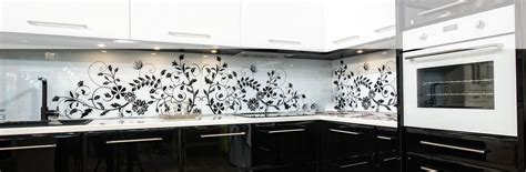 kitchen backsplash ideas glass splash backs cohesion interiors