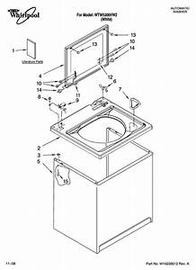 Whirlpool Residential Washer Parts
