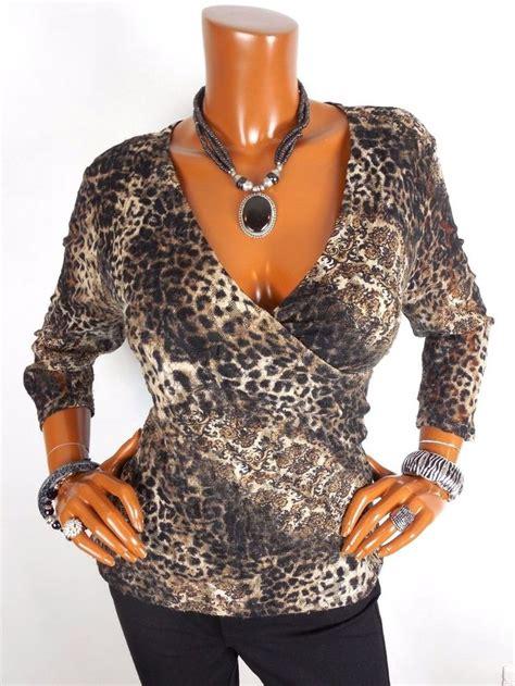 chicos womens blouses chico 39 s sz 3 womens top l xl low cut print