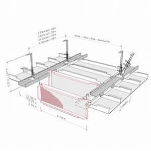 Placo Coupe Feu 1h : plafonds m talliques fural plafonds acoustiques syst mes ~ Dailycaller-alerts.com Idées de Décoration