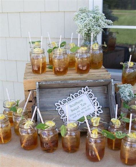 picture of mason jars for serving a signature drink of