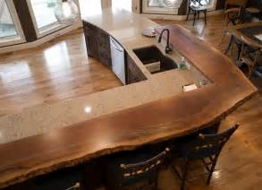 metal top kitchen island timber frame counters tops new energy works
