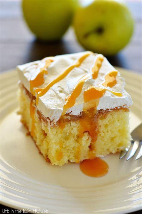 Caramel Apple Poke Cake Life In The Lofthouse
