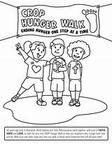 Coloring 50th Hunger Sheet Walk Resources Crop Engage Generation Fight End sketch template
