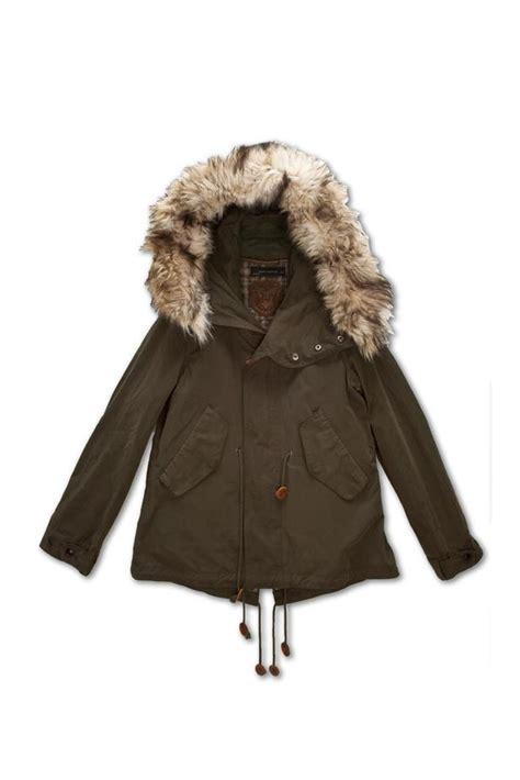 parka 195 capuche en fourrure synth 195 tique collection manteaux collection femme zara