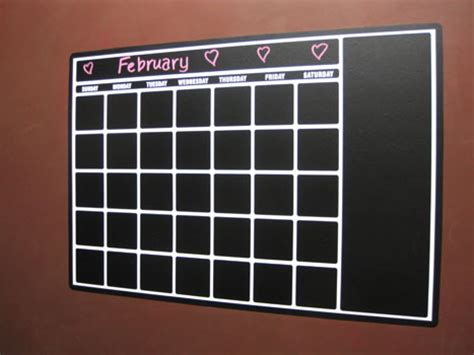 vinyl calendar template pin chart memo board templates are for of any age picture on