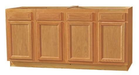 kitchen kompact chadwood 72sb 70 quot oak sink base cabinet at